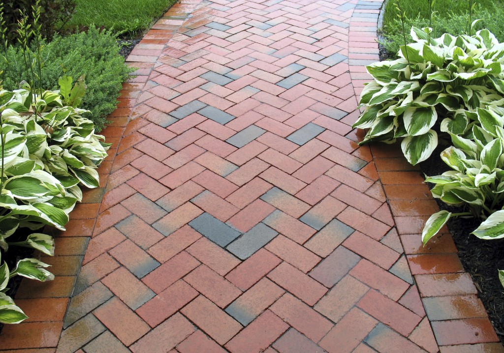 Brick Walkway Showcase North Virginia