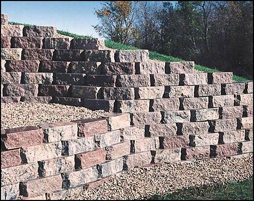 Natural Block Stone Walls