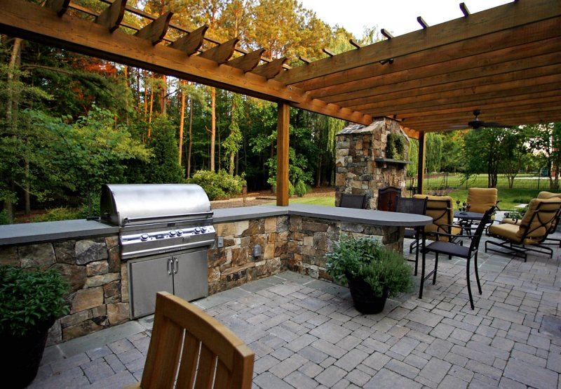 Outdoor Living Space in North VA